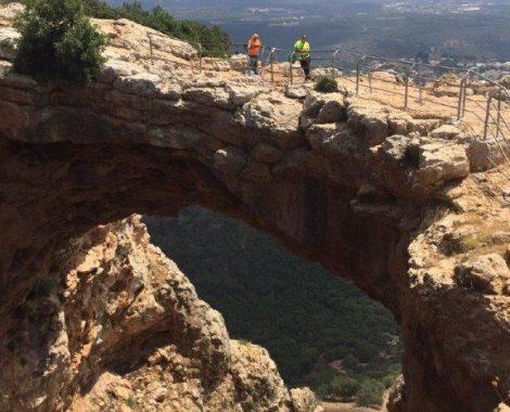 סנפלינג במערת הקשת 2